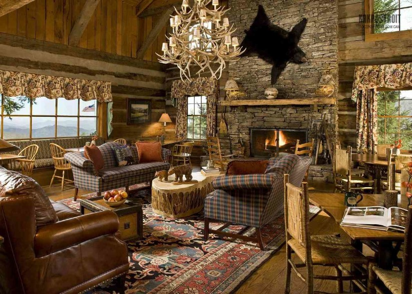 Стиль шале - это дизайн жилища в охотничьем стиле