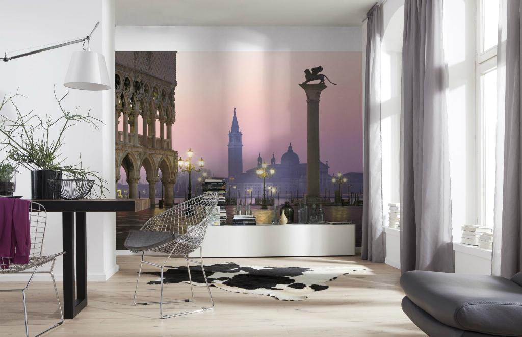 Фотобои в интерьере квартиры