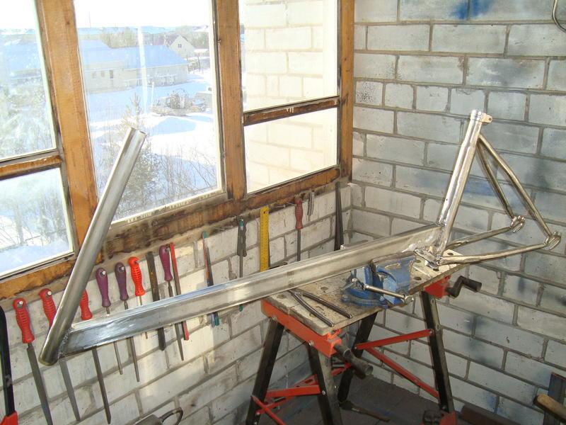 Мастерская на балконе городской квартиры