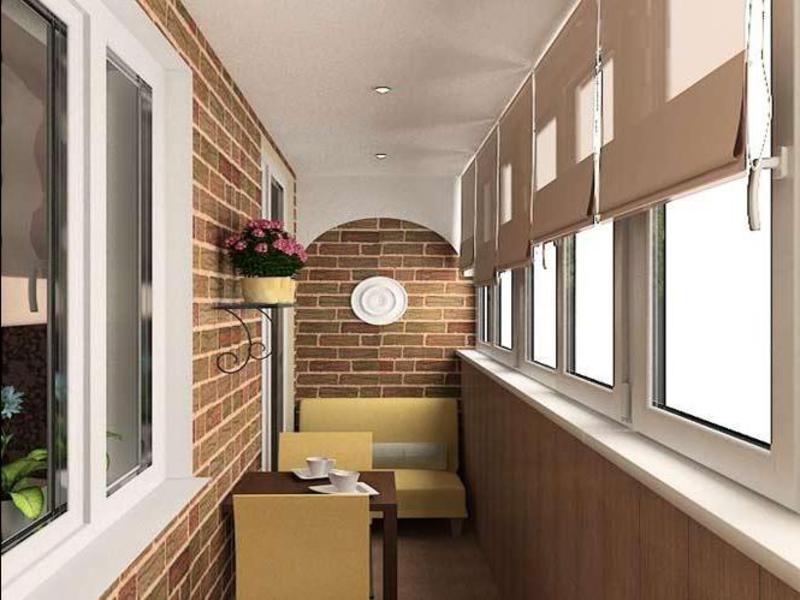 Необычный дизайн маленького балкона своими руками