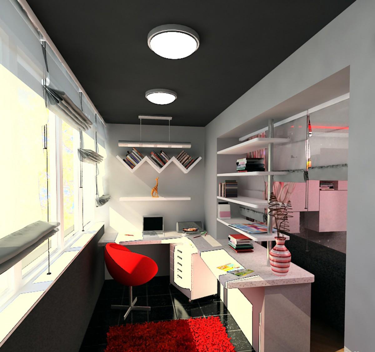 Создание личного кабинета на балконе