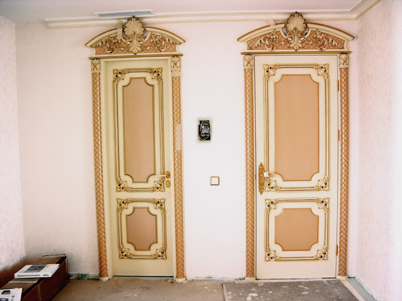 Реставрация дверей в квартире