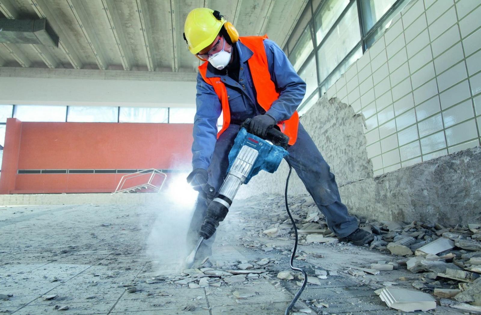 Превышение уровня шума при проведении ремонта