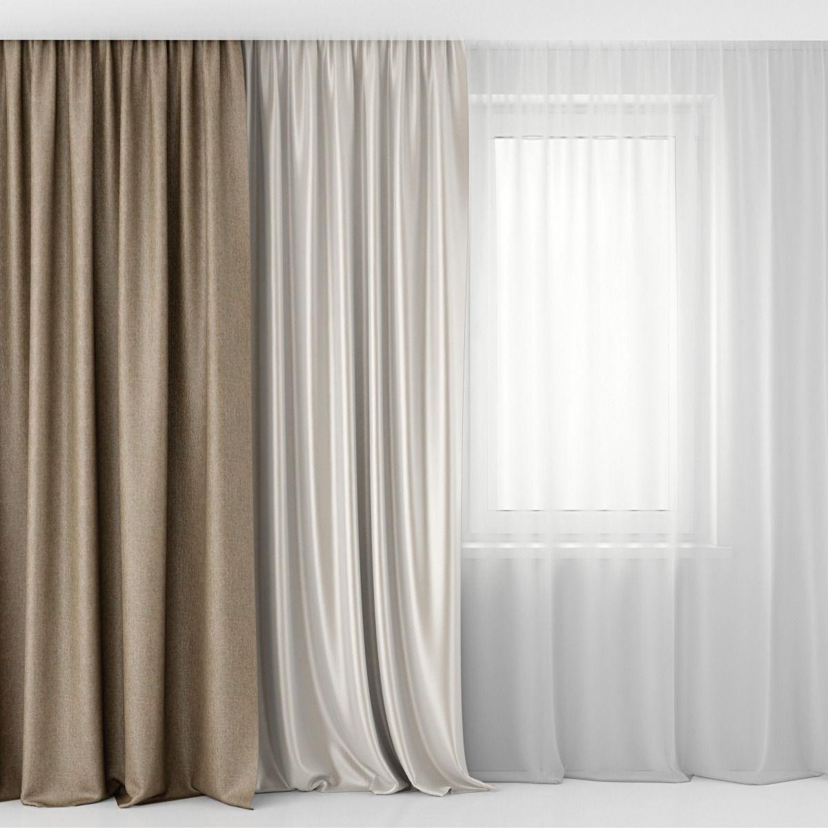 Трехслойные шторы — классическая изысканность