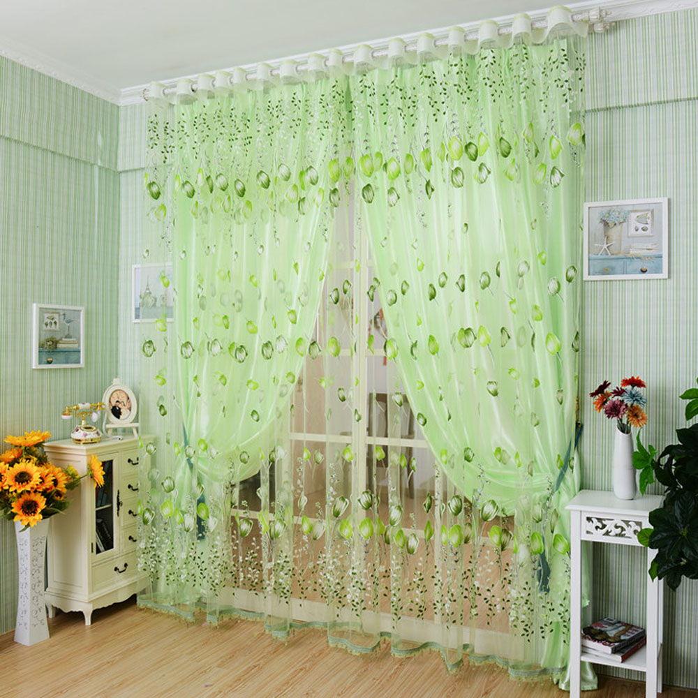 С помощью штор можно декорировать не только окна, но и дверные проемы