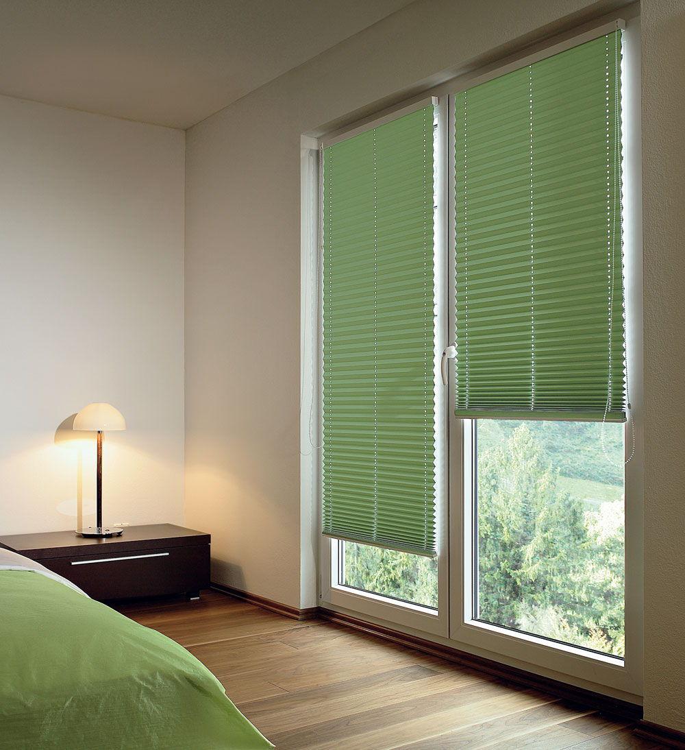 Непроницаемые шторы плиссе – оптимальный вариант для спальной комнаты