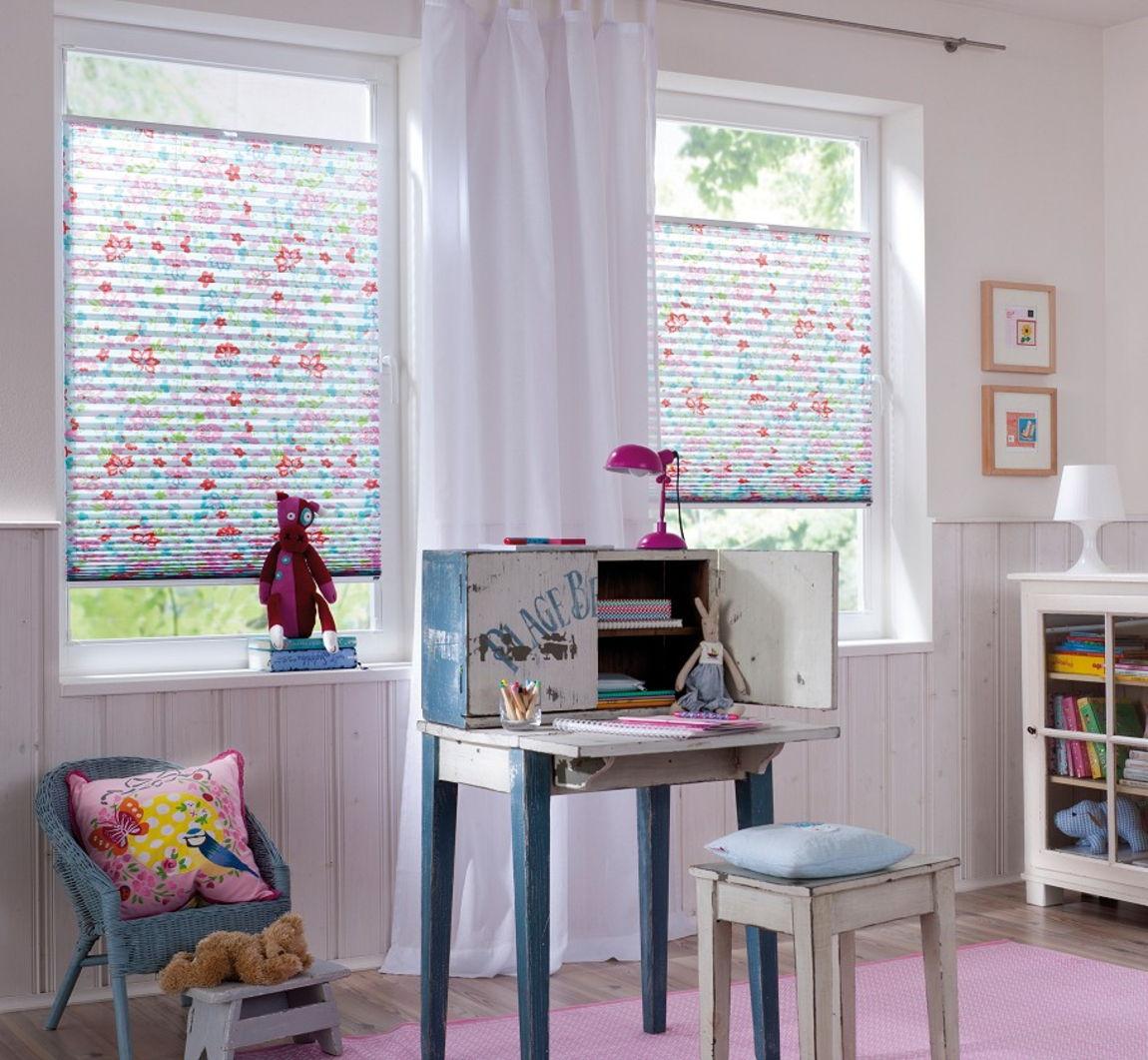 Бумажные шторы плиссе – отличный вариант для детской комнаты