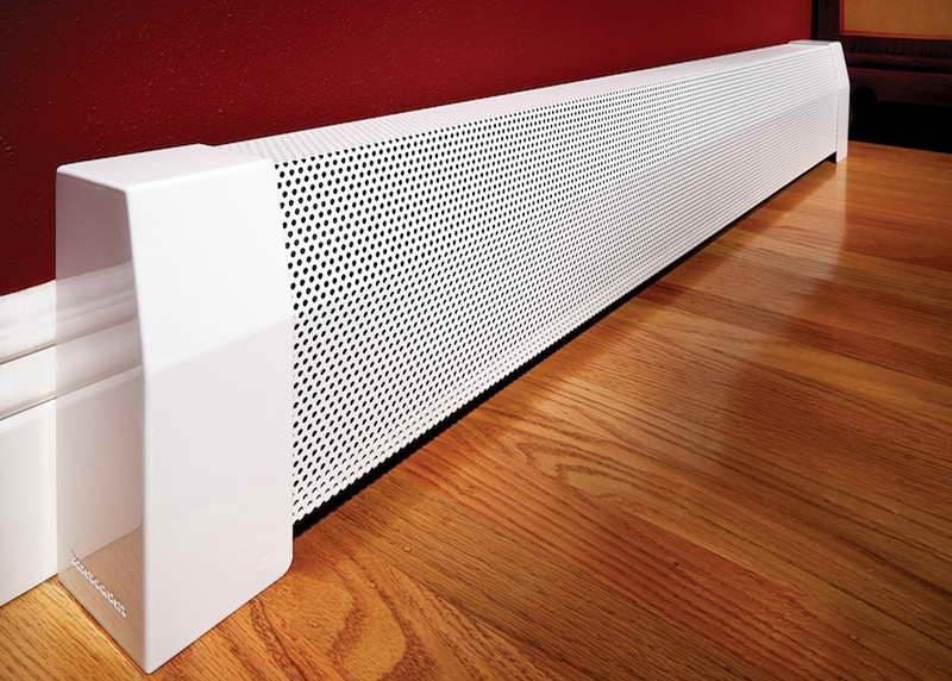 Современные теплоизоляционные материалы позволяют возложить задачу отопления помещения целиком на теплый плинтус