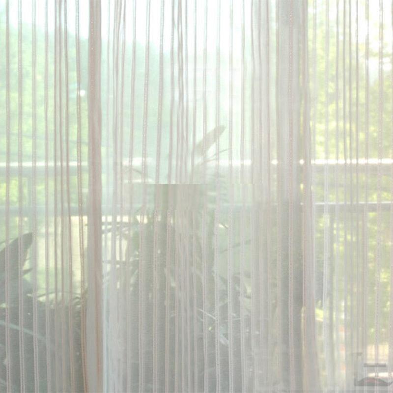 Шторы-нити – стильный способ украсить комнату
