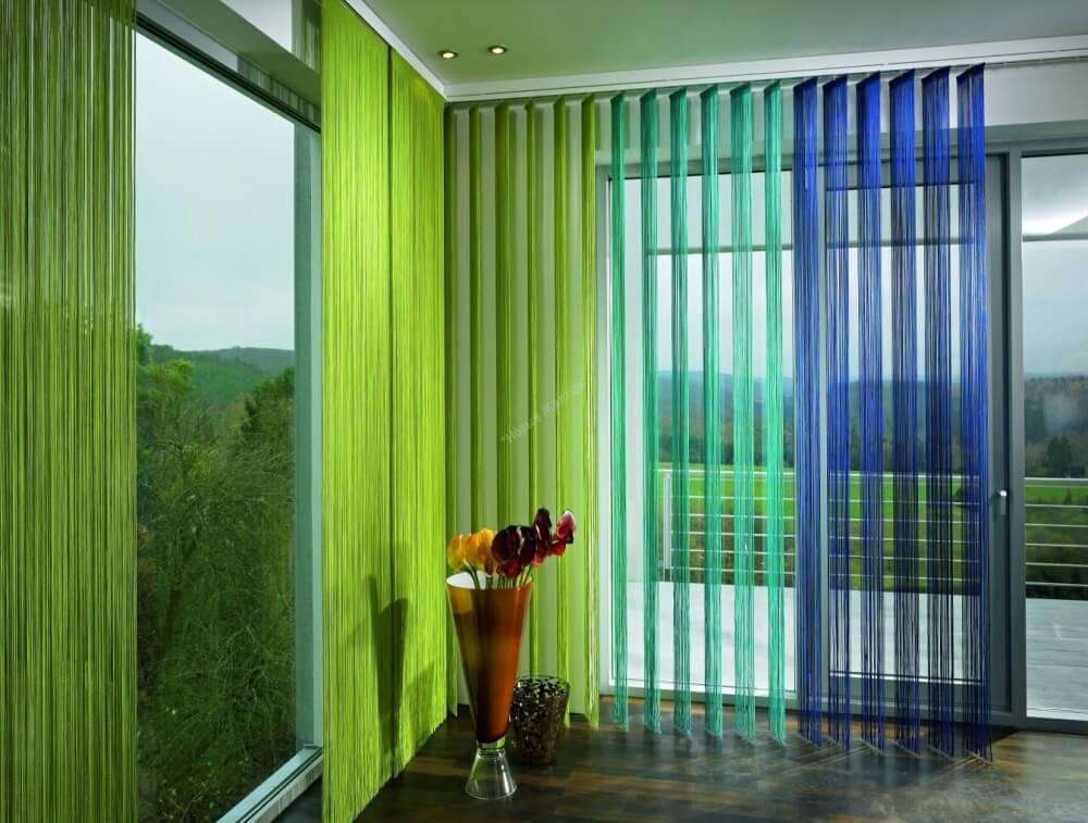 Модно: нитяные шторы на кухне (рекомендации и фото)