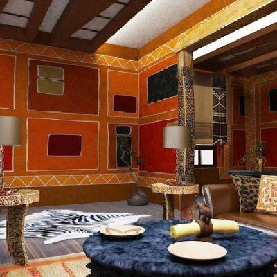 Африканский стиль в интерьере квартиры