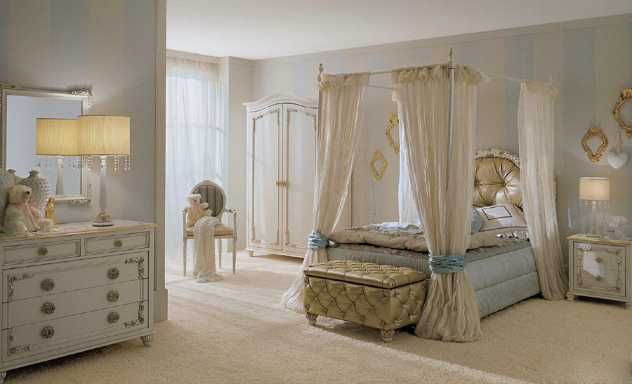 Детская спальня в классическом стиле