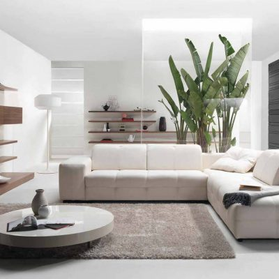 Фото гостиной в стиле модерн