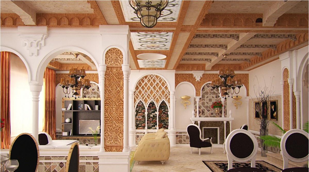 Гостиная в мавританский стиле