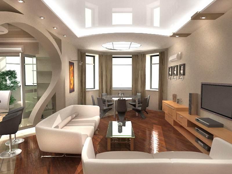 Советы по выбору стиля гостиной комнаты
