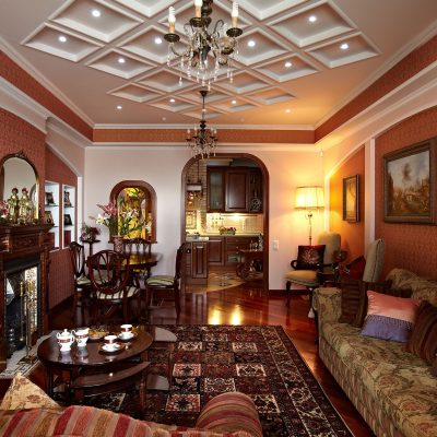 Интерьер квартиры в английском стиле фото