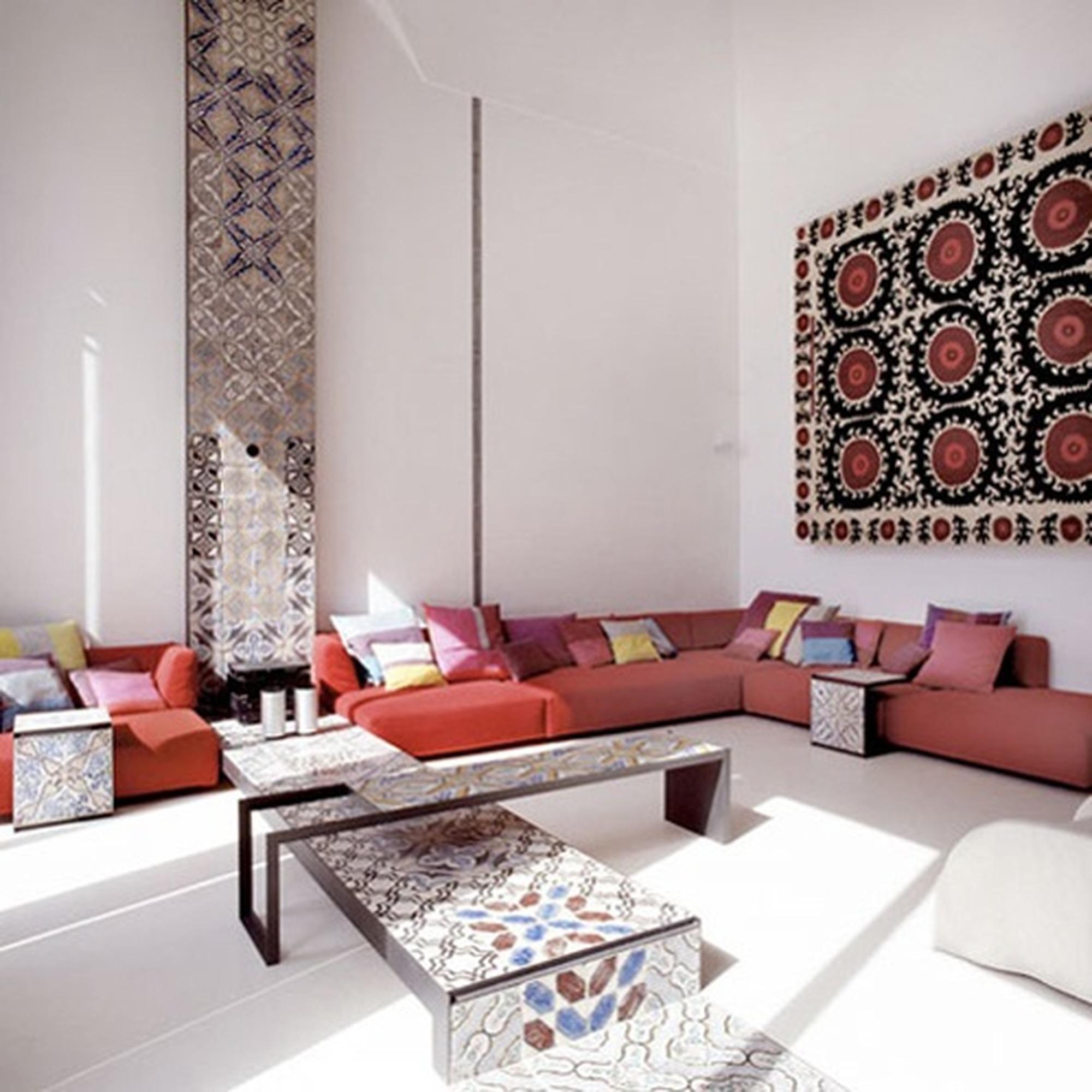 Роскошная спальня в марокканском стиле