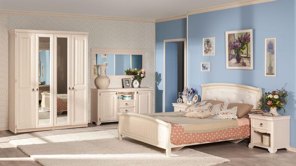 Шкафы в спальню в стиле Прованс