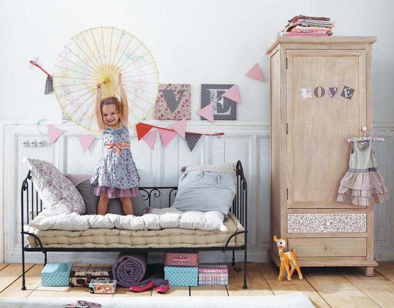 Детская комната в стиле шебби -шик