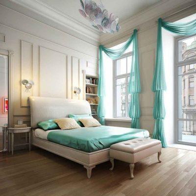 Декоративная шторы для спальни
