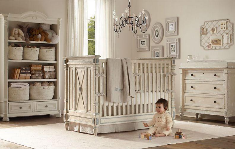 Детская комната в стиле шебби–шик