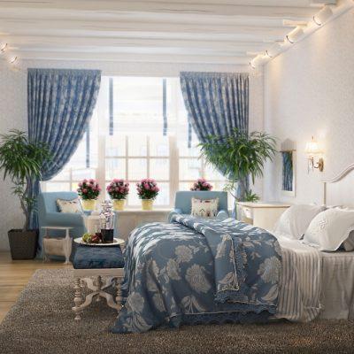 Шторы под текстиль спальни