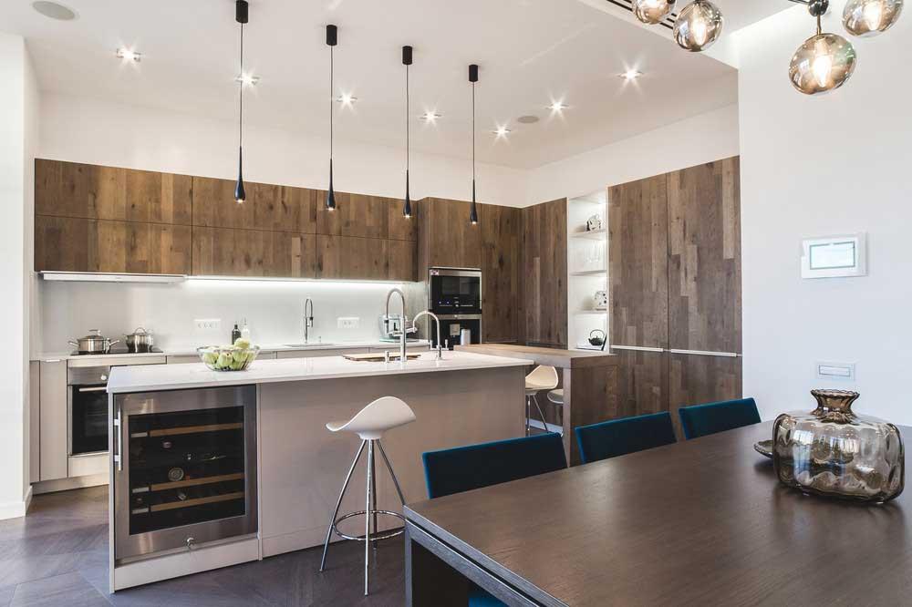 Актуальный дизайн кухни
