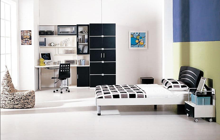 Белый дизайн интерьера детской комнаты
