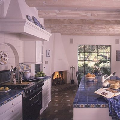 Беспроигрышные фишки для кухни в средиземноморском стиле