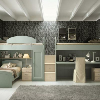 Детская комната для подростка в стиле Лофт