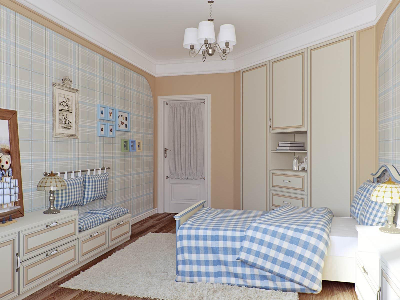 Детская комната в стиле кантри фото