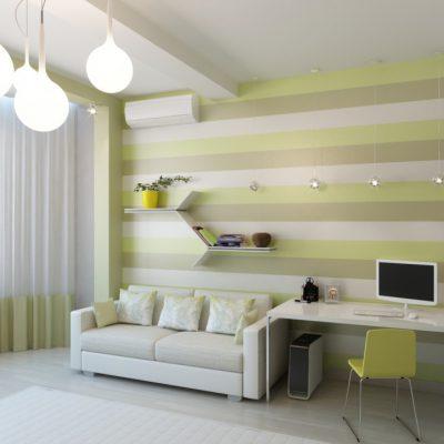 Детская комната в стиле минимализм картинка