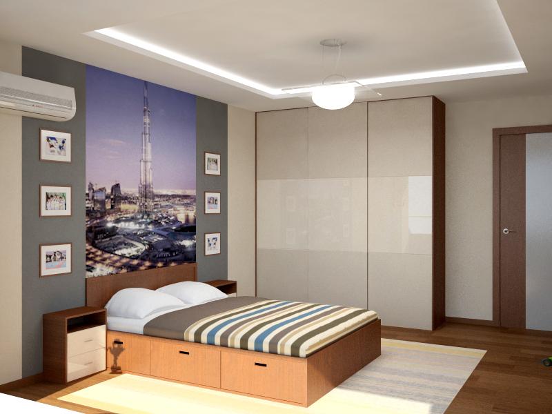 Дизайн комнаты мальчика в стиле минимализм