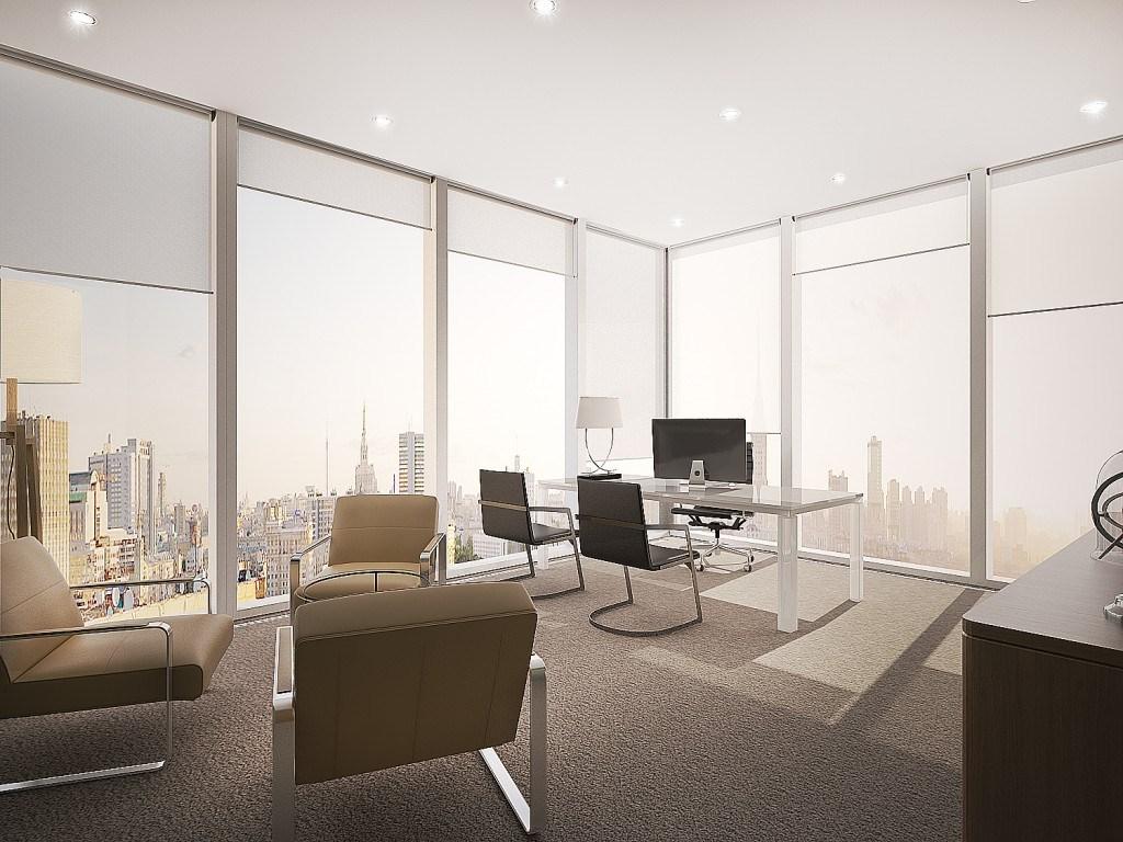 Дизайн офиса в стиле High-Tech