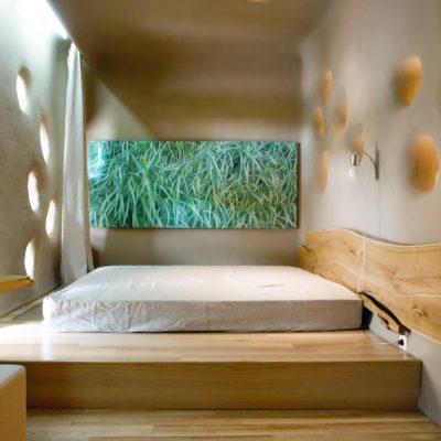 Дизайн спални в эко стиле