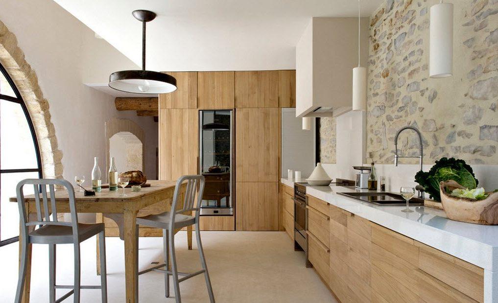 Фото эко-стиль в интерьете кухни