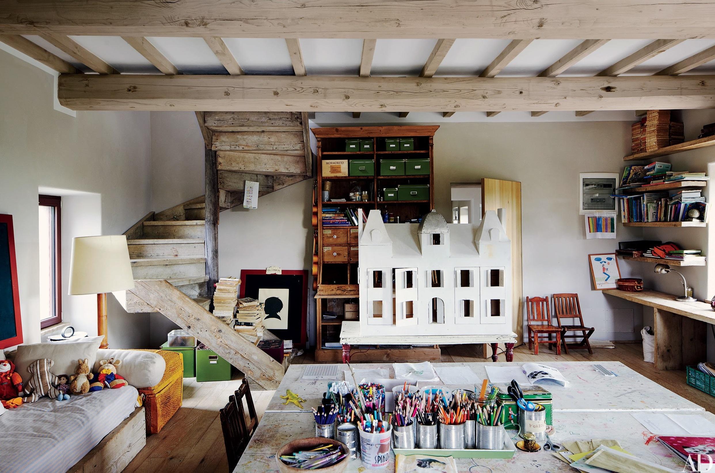Фото комнаты для мальчика в стиле лофт