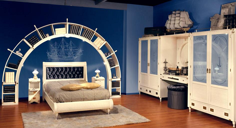 Фотографии спален в морском стиле