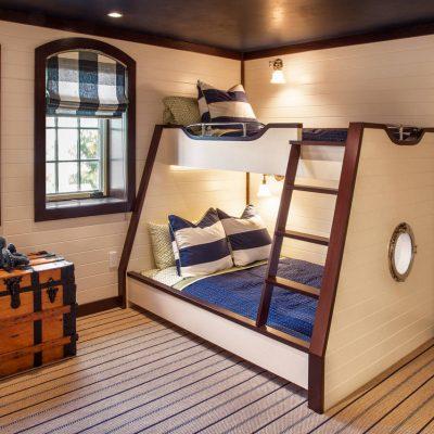 Фотография детская комната в морском стиле