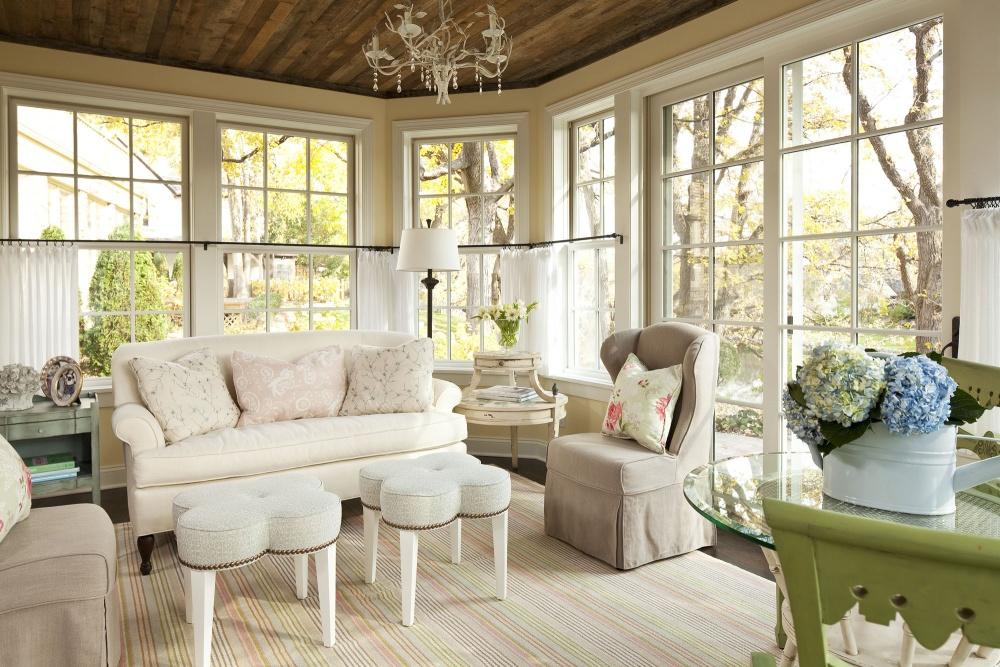 Уют и роскошь гостиной в стиле шебби шик
