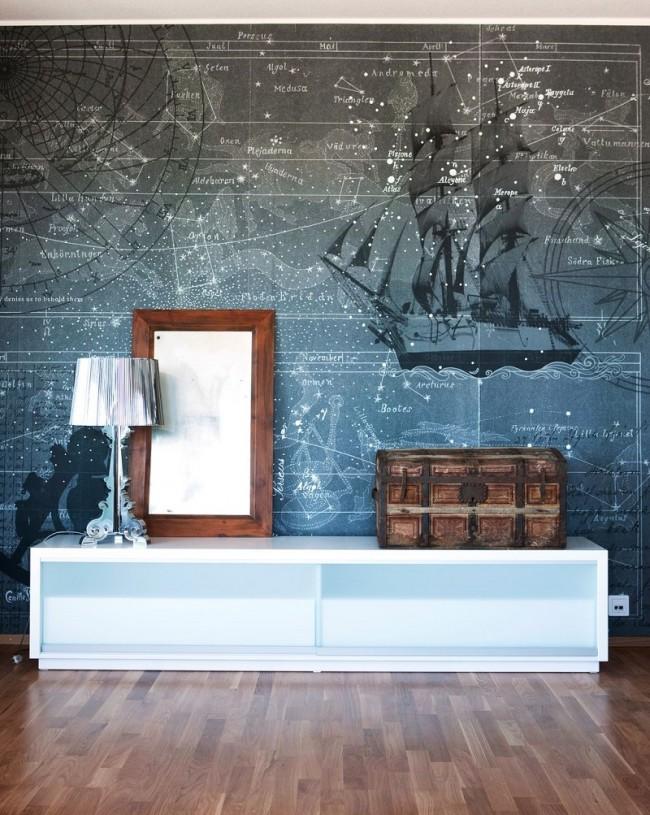 Идеи дизайна интерьера в морском стиле