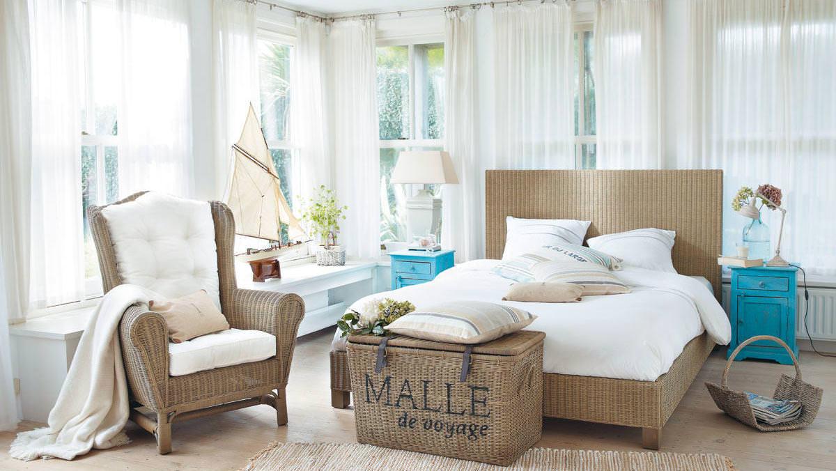 Идеи оформления дизайна комнаты в морском стиле