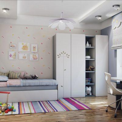 Интерьер детской комнаты в современном стиле