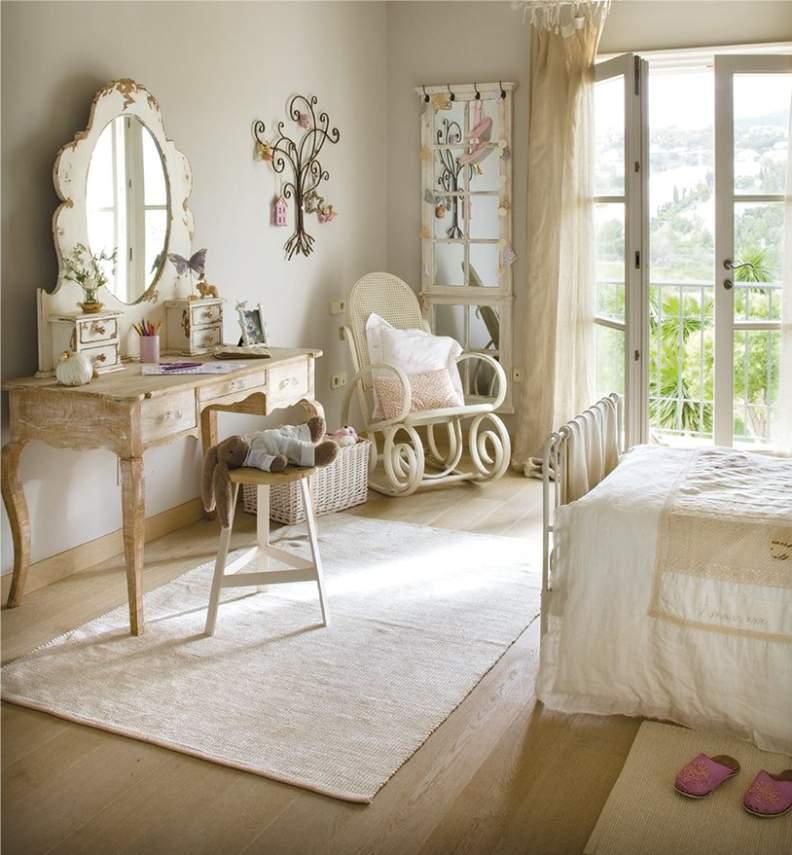 Интерьер детской комнаты в стиле кантри