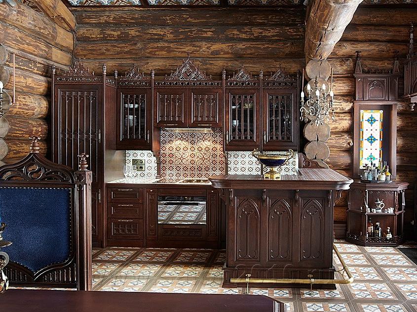 Интересная идея оформления кухни