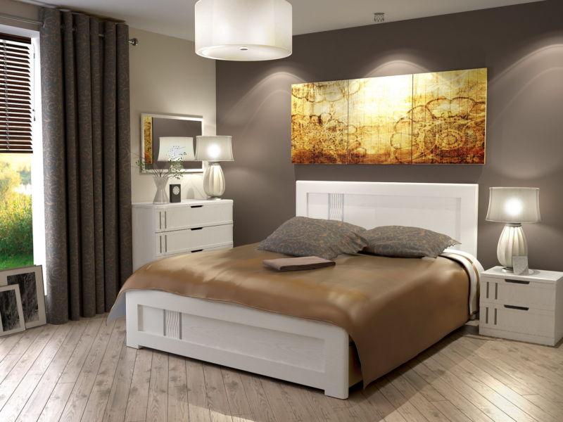 Эко стиль в дизайне интерьера спальни
