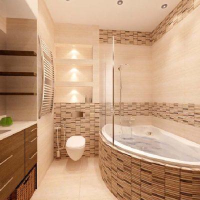 Эко-интерьер ванной