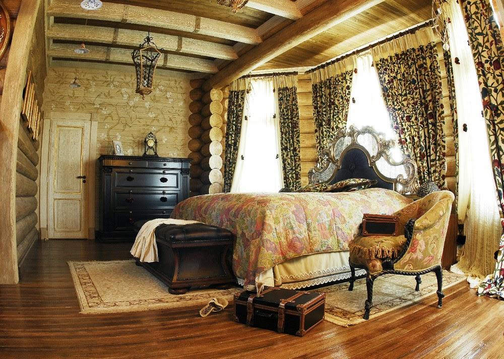 Комната в русском стиле