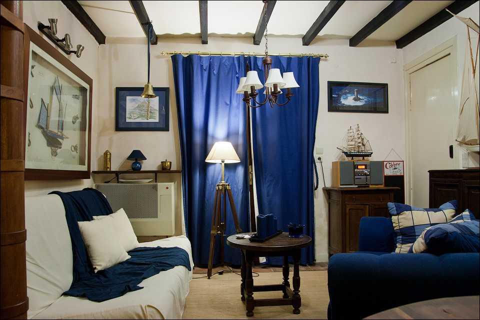 Уютное место для мечтателей - комната в морском стиле