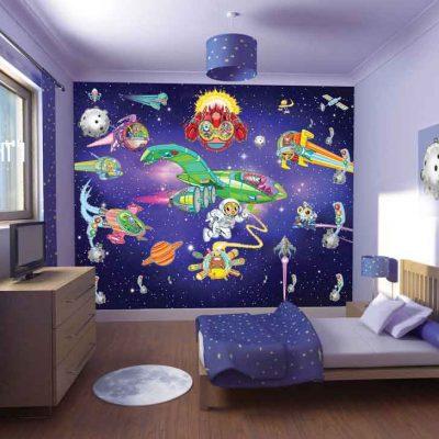 Космическое пространство в детской